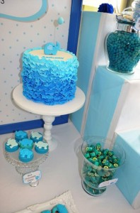 Blue Elephant Christening Party via Kara's Party Ideas | KarasPartyIdeas.com #blue #elephant #boy #christening #baptism #party #ideas (4)