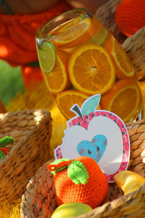 Tutti Frutti Birthday Party via Kara's Party Ideas | KarasPartyIdeas.com #tutti #frutti #healthy #fruit #birthday #party #ideas (3)