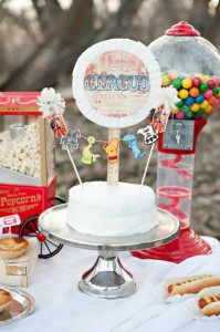 Vintage Circus / Carnival Party via Kara's Party Ideas | KarasPartyIdeas.com #vintage #carnival #circus #girl #boy #party #ideas #supplies (24)