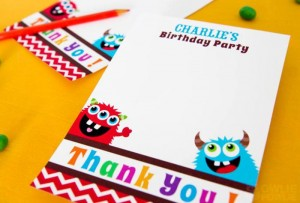 Colorful Monster Party via KarasPartyIdeas.com #MonsterParty #boy #monster #party #idea (7)