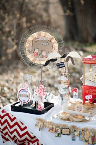 Vintage Circus / Carnival Party via Kara's Party Ideas | KarasPartyIdeas.com #vintage #carnival #circus #girl #boy #party #ideas #supplies (22)