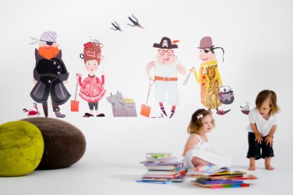Chic Fabric Wall Art via Kara's Party Ideas | KarasPartyIdeas.com #chic #vinyl #wall #art #promo #discount (13)