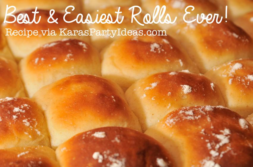 Kara S Party Ideas Best Easiest Dinner Rolls Ever Recipe Kara S Party Ideas