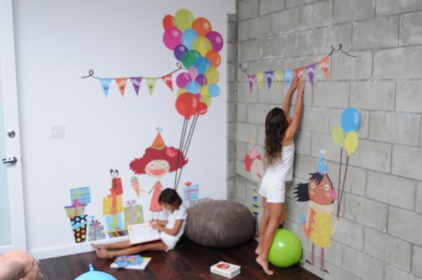 Chic Fabric Wall Art via Kara's Party Ideas | KarasPartyIdeas.com #chic #vinyl #wall #art #promo #discount (12)