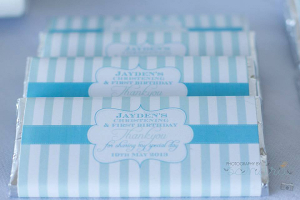 Blue Christening Birthday Party via Kara's Party Ideas | Kara'sPartyIdeas.com #blue #christening #birthday #party #supplies #ideas (11)