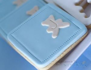 Blue Christening Birthday Party via Kara's Party Ideas | Kara'sPartyIdeas.com #blue #christening #birthday #party #supplies #ideas (10)