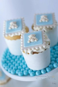 Blue Christening Birthday Party via Kara's Party Ideas | Kara'sPartyIdeas.com #blue #christening #birthday #party #supplies #ideas (7)