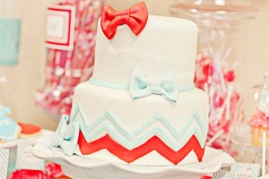 Bow Tie Baby Shower via Kara's Party Ideas | Kara'sPartyIdeas.com #bow #tie #baby #shower #supplies #ideas (14)