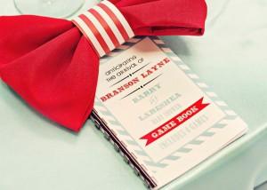 Bow Tie Baby Shower via Kara's Party Ideas | Kara'sPartyIdeas.com #bow #tie #baby #shower #supplies #ideas (12)