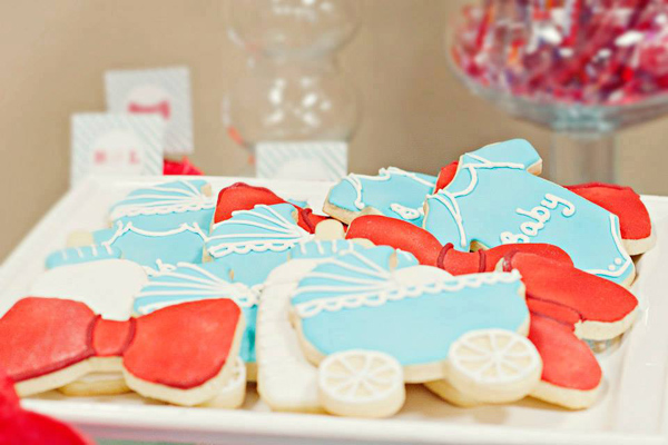 Bow Tie Baby Shower via Kara's Party Ideas | Kara'sPartyIdeas.com #bow #tie #baby #shower #supplies #ideas (8)