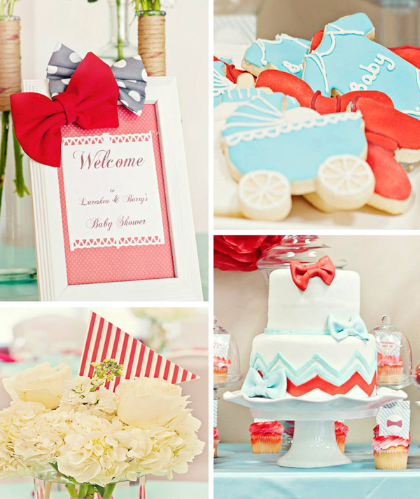 Bow Tie Baby Shower With Lots Of Ideas Via Karas Party