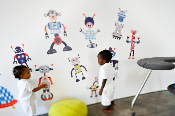 Chic Fabric Wall Art via Kara's Party Ideas | KarasPartyIdeas.com #chic #vinyl #wall #art #promo #discount (11)