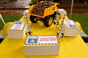 Construction Birthday Party via Kara's Party Ideas | Kara'sPartyIdeas.com #construction #birthday #party #supplies #ideas (21)