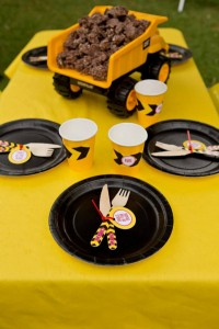 Construction Birthday Party via Kara's Party Ideas | Kara'sPartyIdeas.com #construction #birthday #party #supplies #ideas (19)