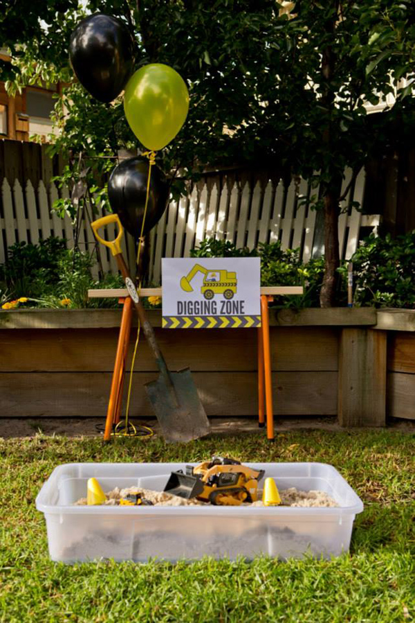 Construction Birthday Party via Kara's Party Ideas | Kara'sPartyIdeas.com #construction #birthday #party #supplies #ideas (27)