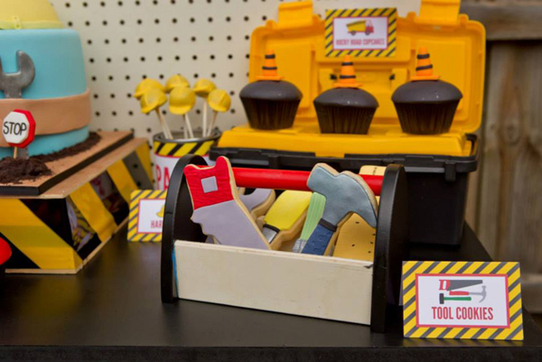 Construction Birthday Party via Kara's Party Ideas | Kara'sPartyIdeas.com #construction #birthday #party #supplies #ideas (3)