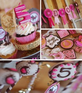 Cowgirl Princess Fifth Birthday Party with LOTS of cute Ideas via Kara's Party Ideas | Kara'sPartyIdeas.com #cowgirl #princess #birthday #party #ideas #supplies #decorations