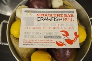Craw Fish Boil Stock The Bar Party via Kara's Party Ideas | Kara'sPartyIdeas.com #craw #fish #stock #the #bar #party #supplies #ideas (30)
