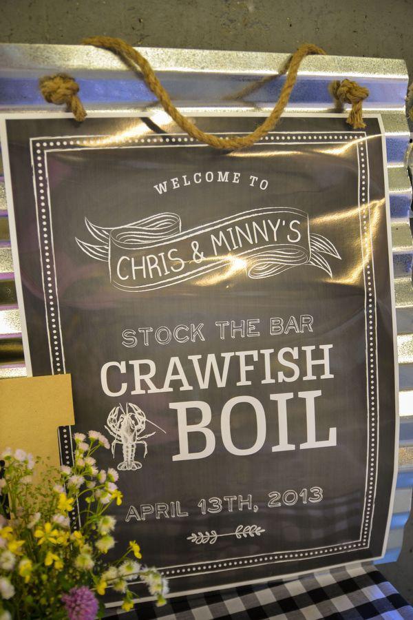 Craw Fish Boil Stock The Bar Party via Kara's Party Ideas | Kara'sPartyIdeas.com #craw #fish #stock #the #bar #party #supplies #ideas (21)