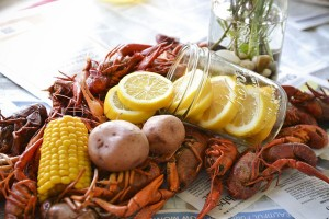 Craw Fish Boil Stock The Bar Party via Kara's Party Ideas | Kara'sPartyIdeas.com #craw #fish #stock #the #bar #party #supplies #ideas (16)