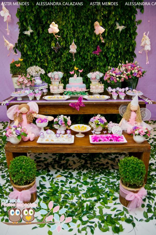Kara S Party Ideas Fairy Garden Themed 1st Birthday Party