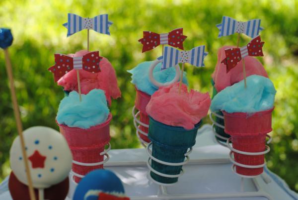 July 4th Seersucker Party via Kara's Party Ideas | KarasPartyIdeas.com #patriotic #july #4th #seersucker #party #ideas (10)