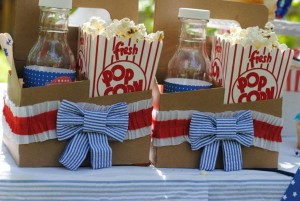 July 4th Seersucker Party via Kara's Party Ideas | KarasPartyIdeas.com #patriotic #july #4th #seersucker #party #ideas (8)