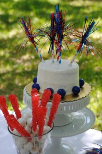 July 4th Seersucker Party via Kara's Party Ideas | KarasPartyIdeas.com #patriotic #july #4th #seersucker #party #ideas (6)