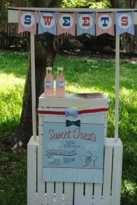 July 4th Seersucker Party via Kara's Party Ideas | KarasPartyIdeas.com #patriotic #july #4th #seersucker #party #ideas (5)