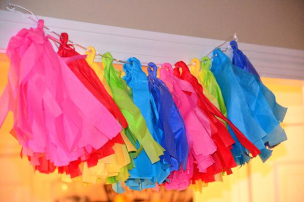 Rainbow Art Party via Kara's Party Ideas | KarasPartyIdeas.com #rainbow #art #party #supplies #ideas