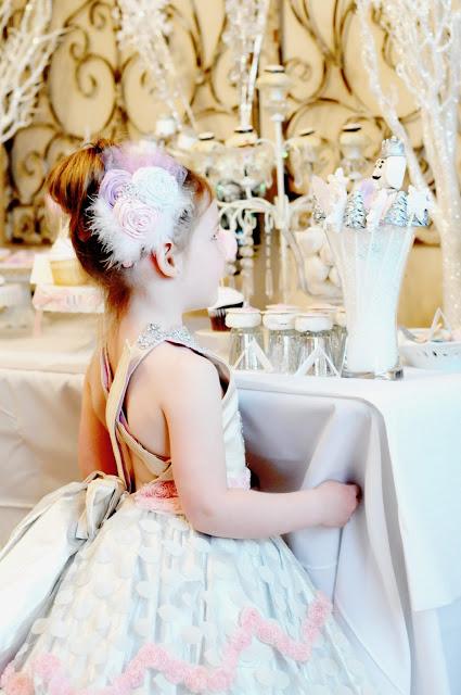 Kara S Party Ideas Sugar Plum Nutcracker Winter Ballerina