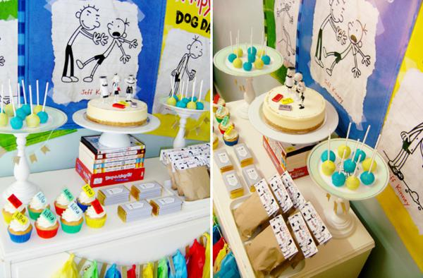 Karas Party Ideas Diary Of A Wimpy Kid Boy Girl 9th Birthday Planning