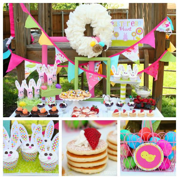 Easter Brunch and Egg Hunt party via Kara