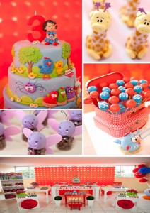 Festa Galinha Pintadinha Birthday Party with Lots of Ideas via Kara's Party Ideas | Kara'sPartyIdeas.com #festa #galinha #pintadinha #birthday #party #ideas #supplies