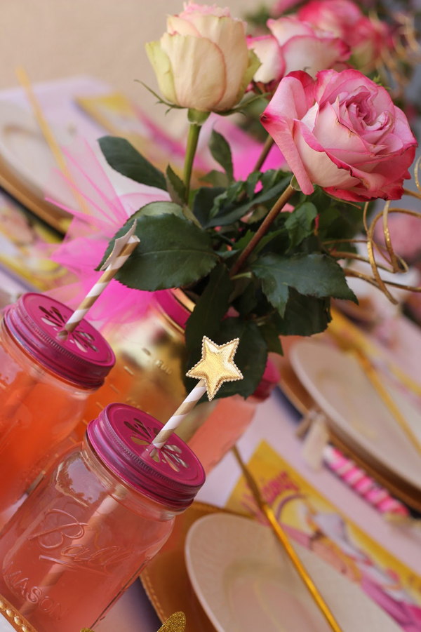 Goldilicious Pinkalicious Birthday Party via Kara's Party Ideas | Kara'sPartyIdeas.com #goldilicious #pinkalicious #birthday #party #supplies #ideas (9)