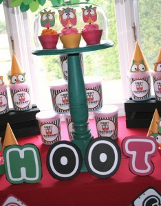 Two's a Hoot Birthday Party via Kara's Party Ideas | Kara'sPartyIdeas.com #twos #a #hoot #birthday #party #supplies #ideas (3)