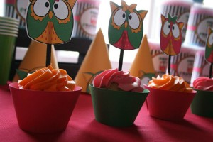 Two's a Hoot Birthday Party via Kara's Party Ideas | Kara'sPartyIdeas.com #twos #a #hoot #birthday #party #supplies #ideas
