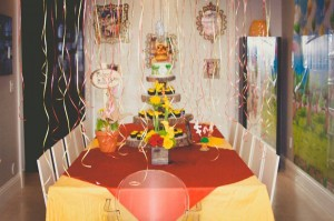 Winnie The Pooh Hundred Acre Wood Party via Kara's Party Ideas | Kara'sPartyIdeas.com #winnie #the #pooh #hundred #acre #wood #ideas #supplies (8)