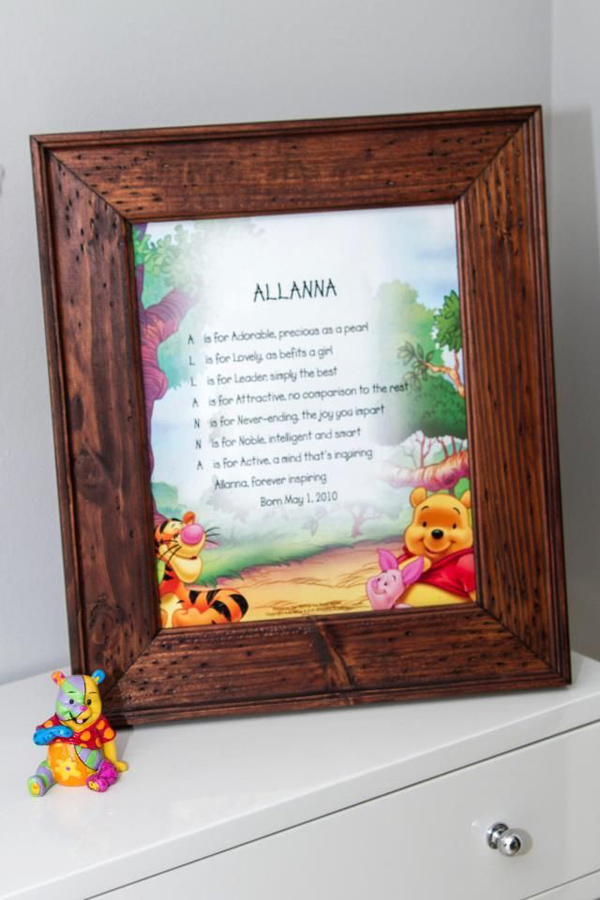 Winnie The Pooh Hundred Acre Partido Madeira via Idéias do partido de Kara | Kara'sPartyIdeas com # winnie # the # pooh # cem # acre # madeira # ideias # suprimentos (4).