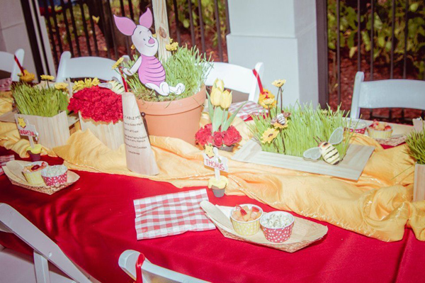 Winnie The Pooh Hundred Acre Wood Party via Kara's Party Ideas | Kara'sPartyIdeas.com #winnie #the #pooh #hundred #acre #wood #ideas #supplies (35)