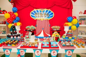 Circus Birthday Party via Kara
