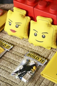 Lego Construction Birthday Party via KarasPartyIdeas.com #lego #construction #truck #party #idea #supplies (38)