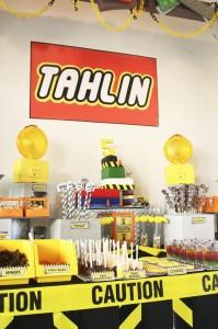 Lego Construction Birthday Party via KarasPartyIdeas.com #lego #construction #truck #party #idea #supplies (35)