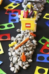 Lego Construction Birthday Party via KarasPartyIdeas.com #lego #construction #truck #party #idea #supplies (26)