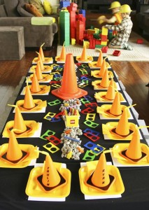 Lego Construction Birthday Party via KarasPartyIdeas.com #lego #construction #truck #party #idea #supplies (25)