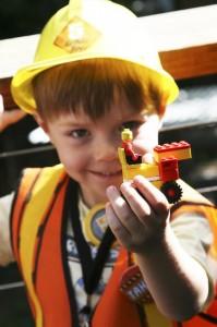 Lego Construction Birthday Party via KarasPartyIdeas.com #lego #construction #truck #party #idea #supplies (19)