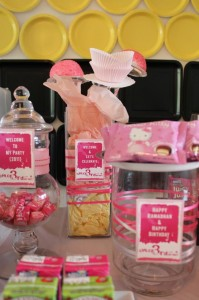 Girly Art Party via KarasPartyIdeas.com #girl #art #party #idea #decorations (17)