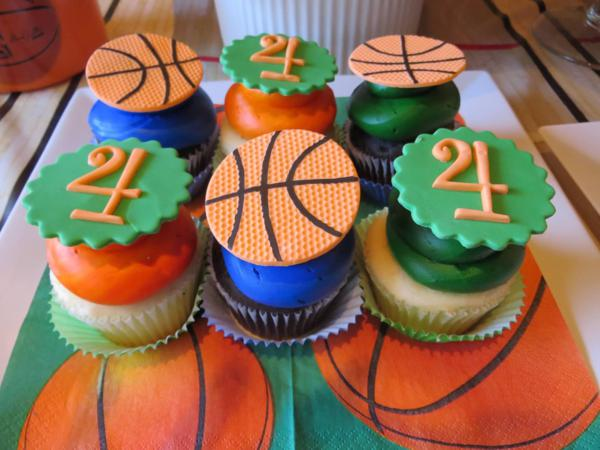 Karas Party Ideas Slam Dunk Basketball Sports Boy 4th Birthday Planning