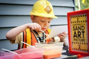 Lego Construction Birthday Party via KarasPartyIdeas.com #lego #construction #truck #party #idea #supplies (12)
