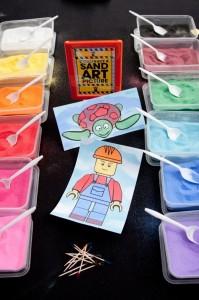 Lego Construction Birthday Party via KarasPartyIdeas.com #lego #construction #truck #party #idea #supplies (11)